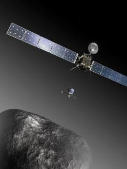 Rosetta See CometChanges.